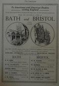Antique Dealers in Bath & bristol, about 1929