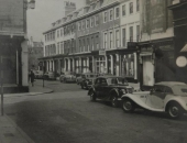 Wood Street from Quiet Street, Bath. 1950's