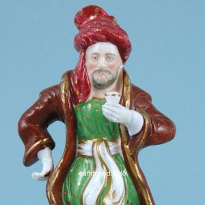 Staffordshire Figure of Ali Baba