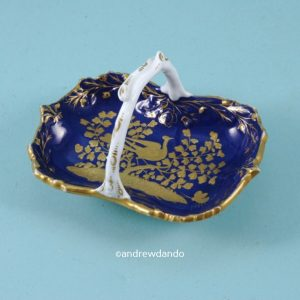 Spode Miniature Basket.