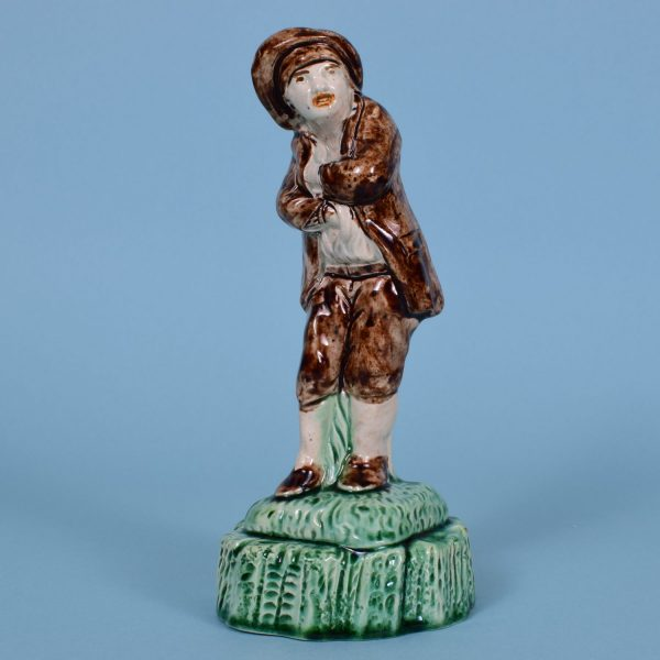 Early Staffordshire Figure of Winter