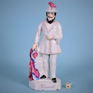 Staffordshire Figure of Louis Kossuth.