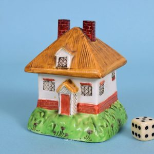 Staffordshire Cottage Pastille Burner.