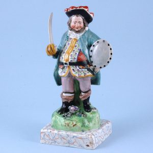 Staffordshire Pottery figure of Falstaff