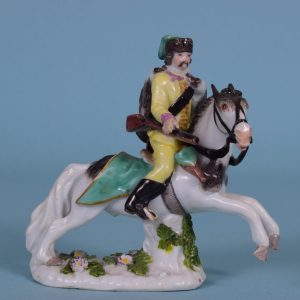 Meissen Figure of a Polish Hussar