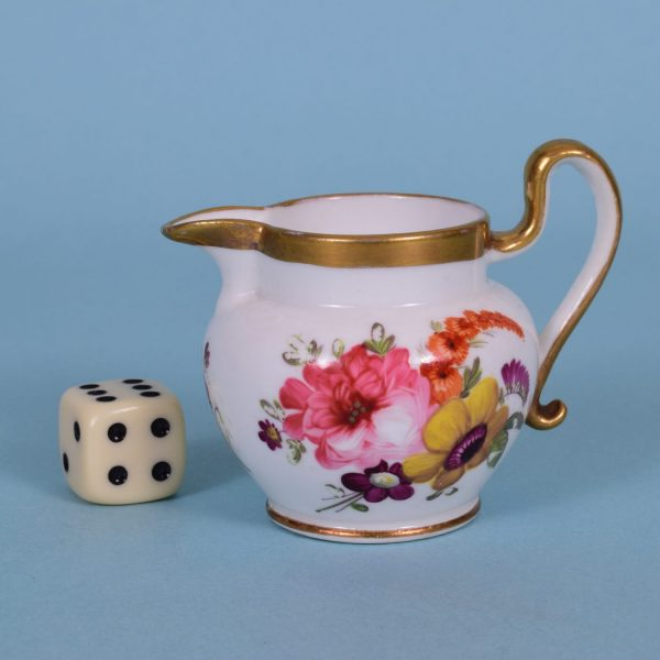 English Porcelain Miniature Jug