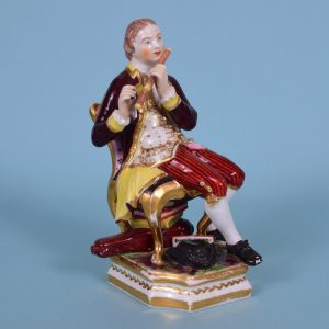 Derby Figure of a Flautist