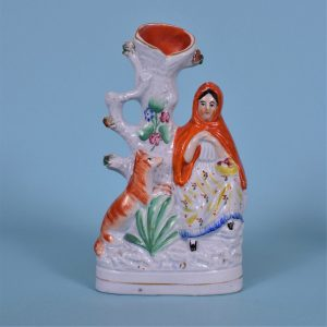Staffordshire Little Red Riding Hood.