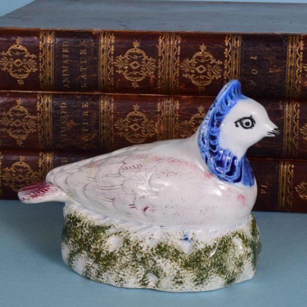 English Pottery Nun Pigeon