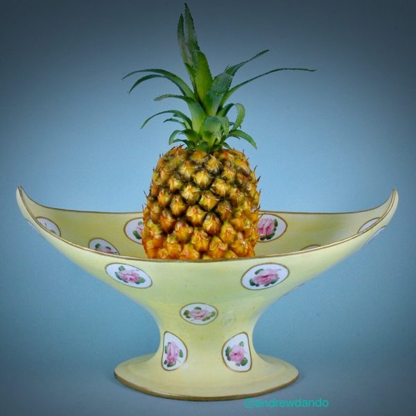 Rare Derby Porcelain 'Pineapple Stand'