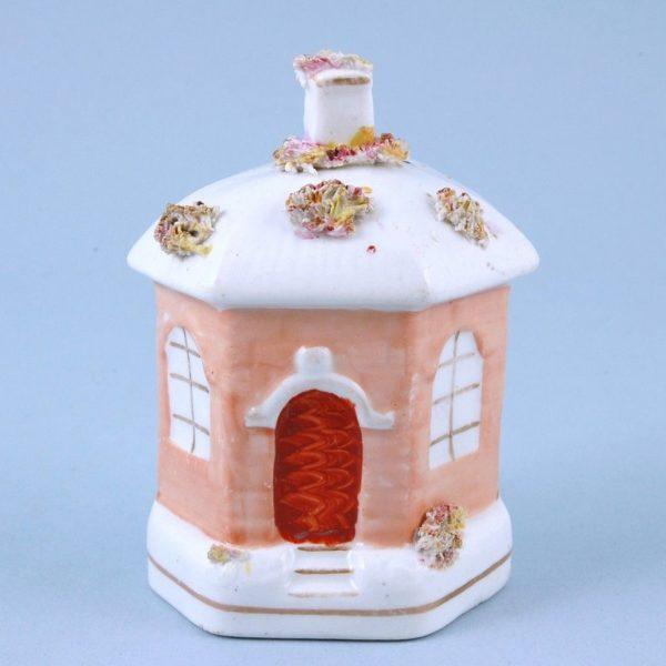 Staffordshire Porcelain Money Bank