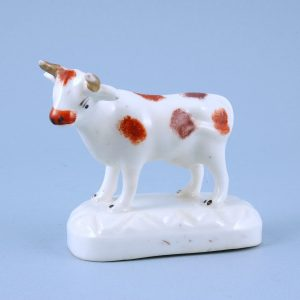 Staffordshire Porcelain model of a Bull