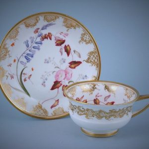 English Porcelain Tea Cup & Saucer