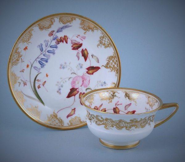 English Porcelain Tea Cup & Saucer
