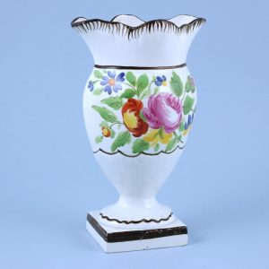 English Pottery Flower Vase