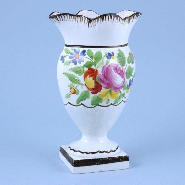 English Pottery Flower Vase