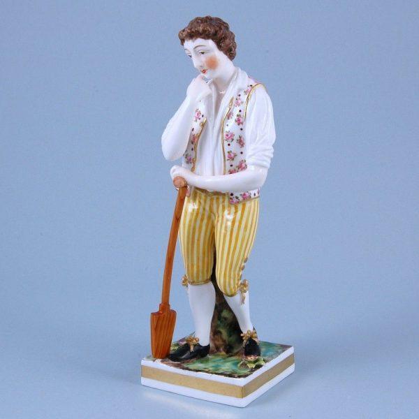 Derby (King Street) Figure of a Gardener