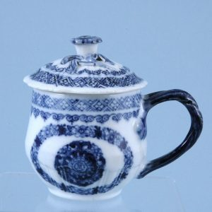 Chinese Export Porcelain Custard Cup - B+W