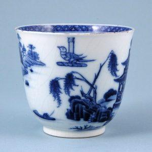 Chinese Export 'Soft Paste' Porcelain Beaker