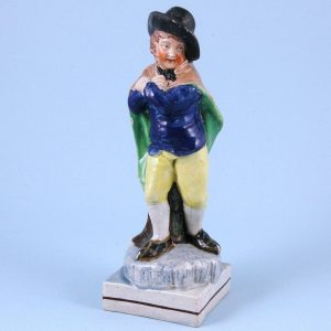 Staffordshire Pottery Figure of Winter.
