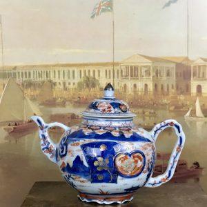 Unusual Chinese Imari Style Teapot