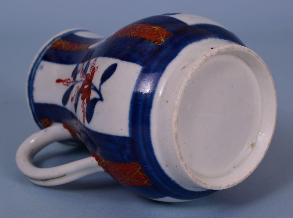 C18th Worcester Porcelain Cream Jug.