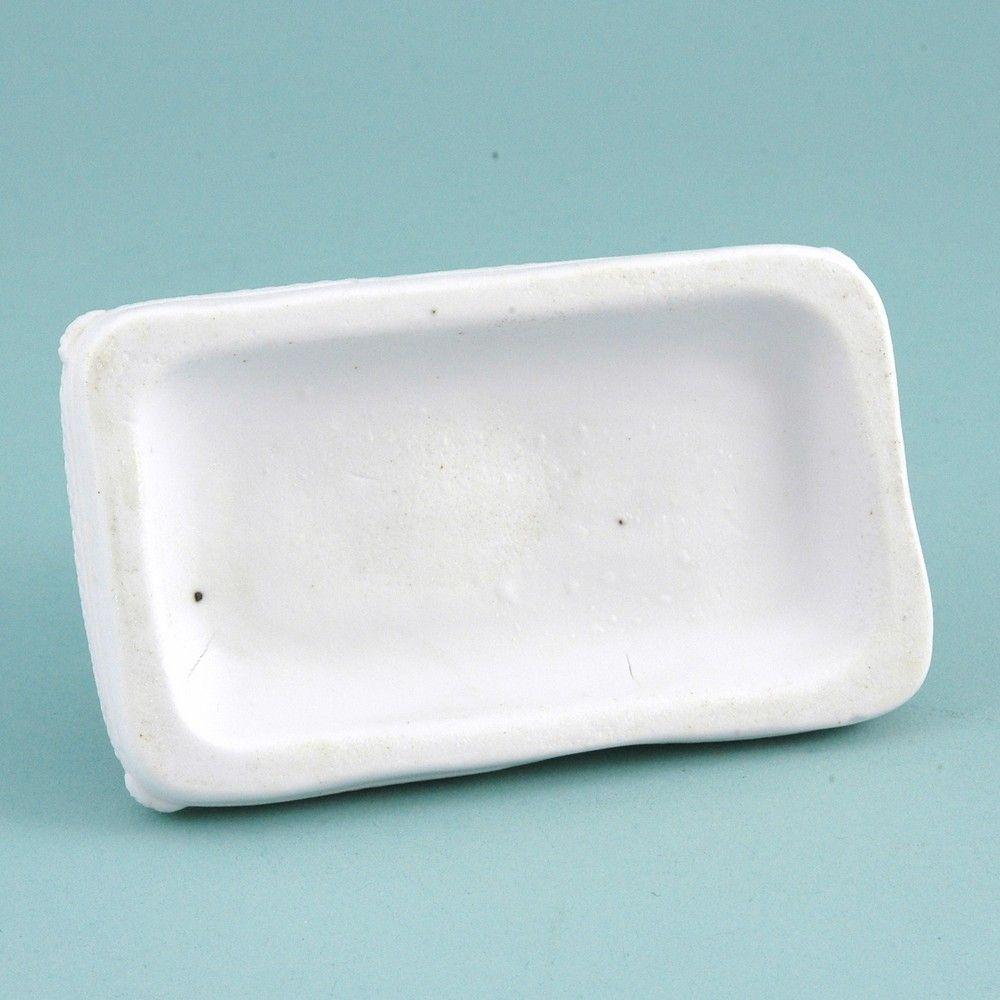 Worcester Biscuit Porcelain Model of a Poodle.