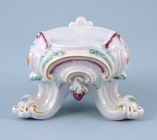 Derby Porcelain Stand for a Figure or Vase
