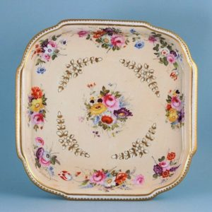 Coalport porcelain Tea Tray.