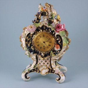Coalport Porcelain Clock Case