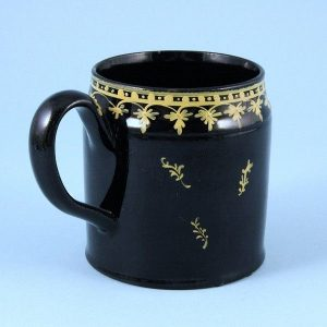 English Pottery Small 'Jackfield' Type Mug