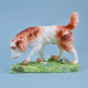 Derby Porcelain Model of a Retriever