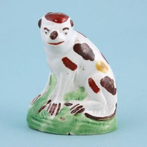 Staffordshire pottery Monkey.