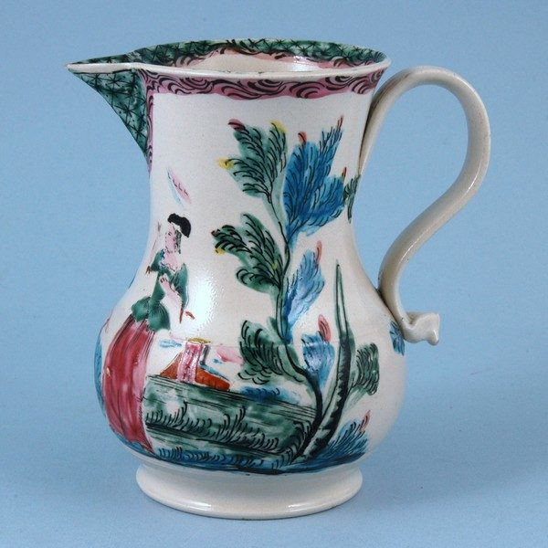 English Saltglaze Jug