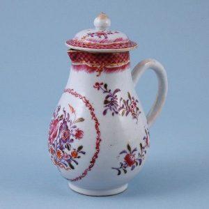 Chinese Export Porcelain Water Jug & Cover