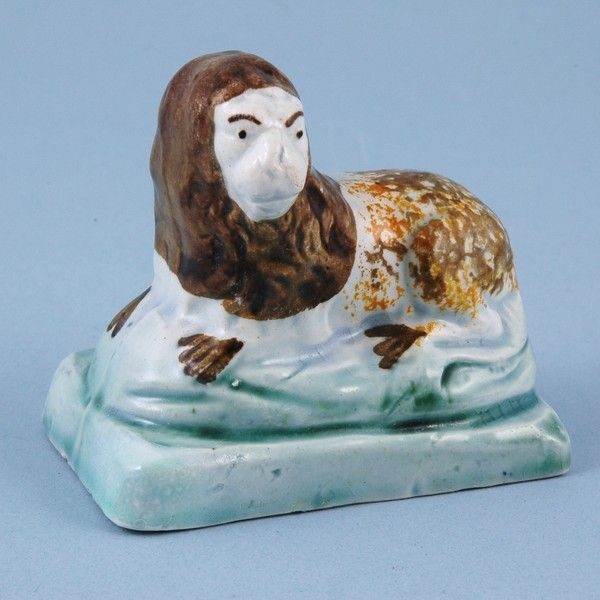 Early Staffordshire Pottery Lion