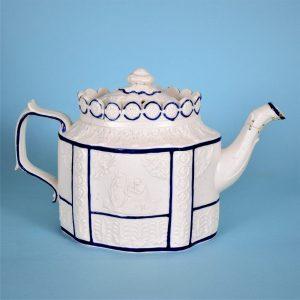 Feldspathic Stoneware teapot.