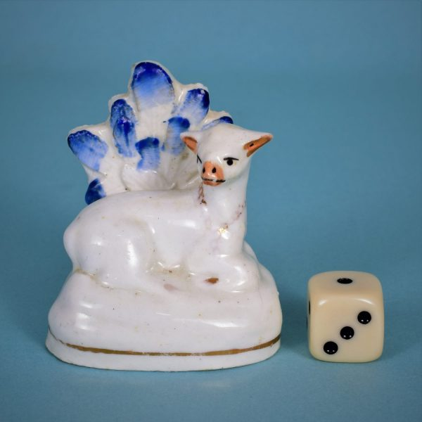 Staffordshire Miniature Deer with Bocage.