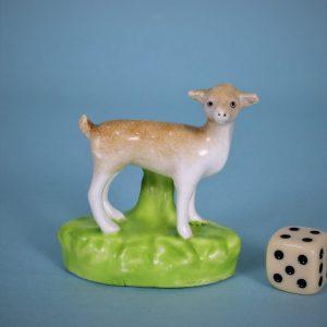 Staffordshire Porcelain Miniature Deer.