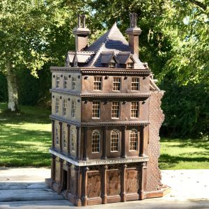 Stoneware Model of The Ironmasters Hotel.