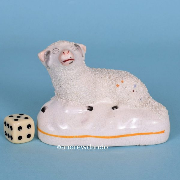 Victorian Staffordshire Sheep (rhs/15447)