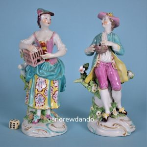 Derby Figures of Liberty & Matrimony