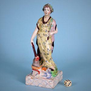 Staffordshire Figure of Peace.