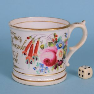 Porcelain Mug for Master Frank Whitlock