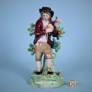 Staffordshire Figure of a Shepherd (14982)