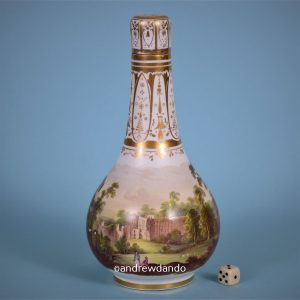 English Porcelain Bottle.