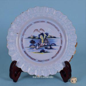 English delft Plate.