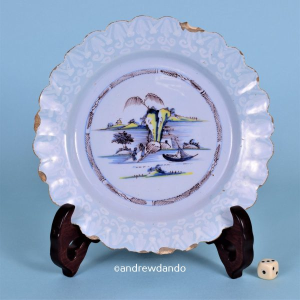 English Delft Plate