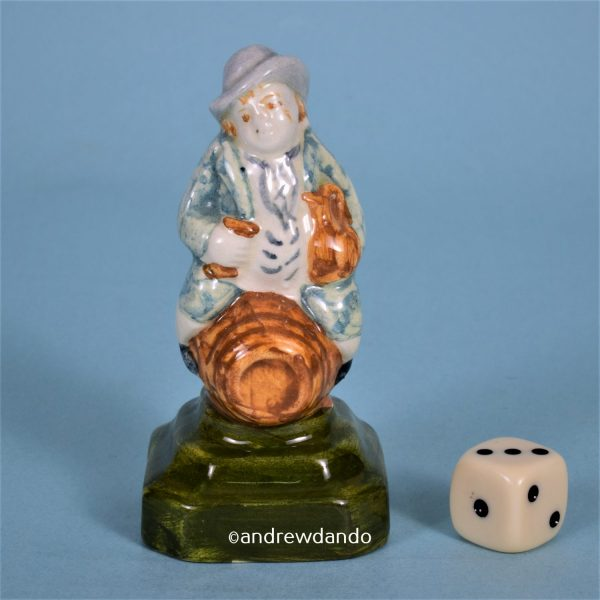 Staffordshire Style Figure of a Toper.