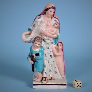 Staffordshire Figure of Charity.